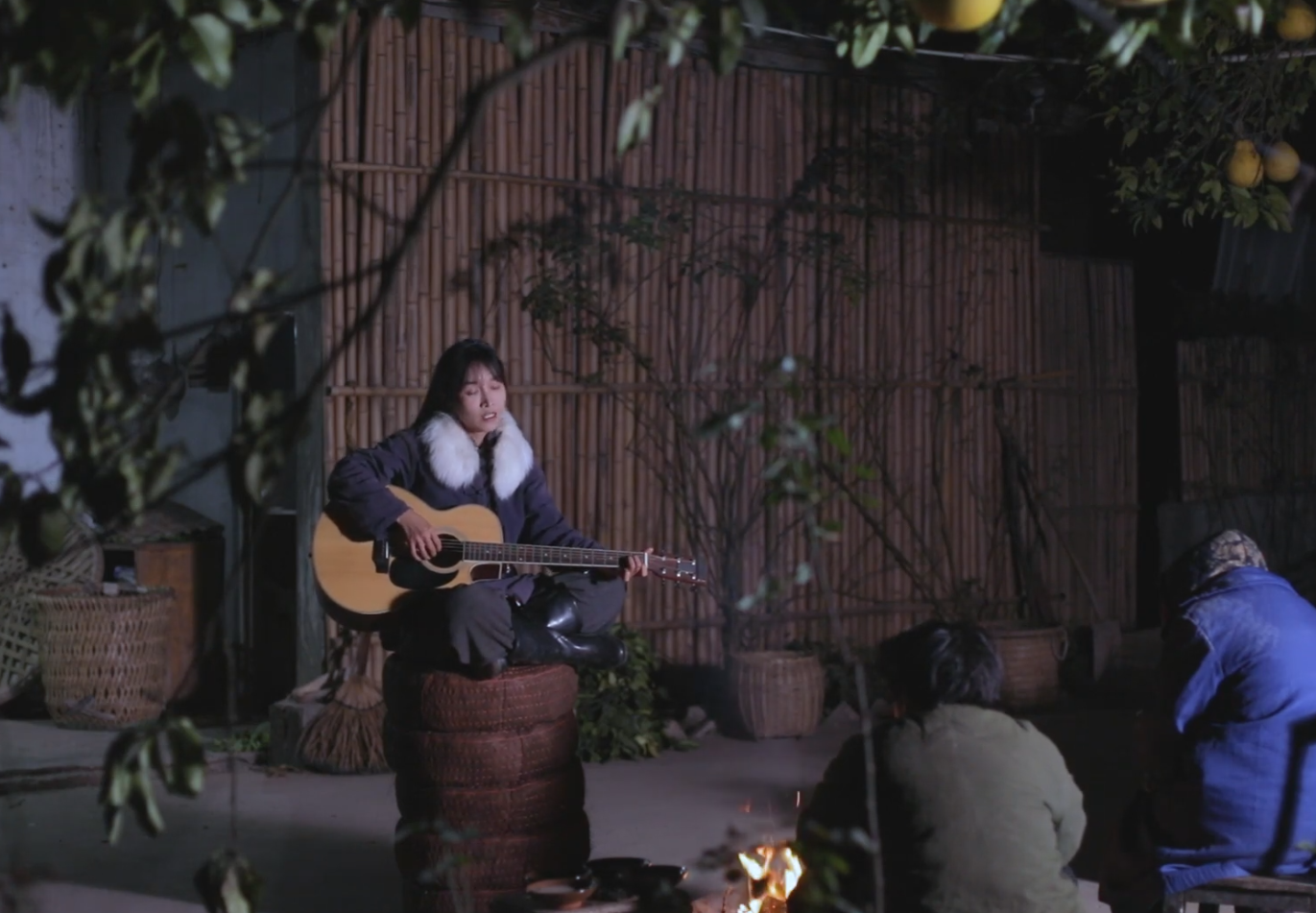 Li Ziqi Playing Guitar